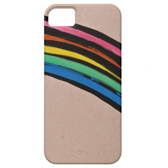 Open Canvas artist Irene Hwang rainbow iPhone cover