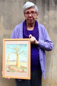 Open Canvas artist Irene Jacob
