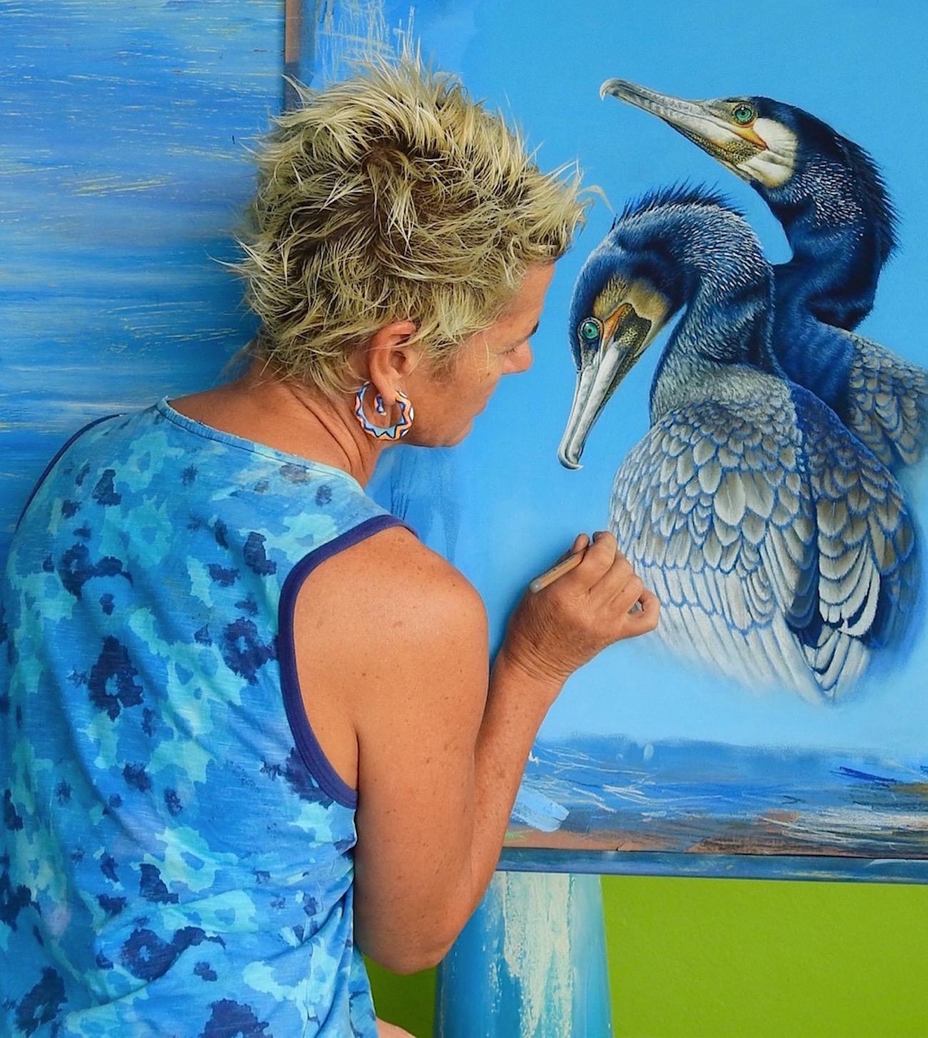 Open Canvas artist Renata Bruynzeel