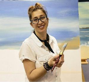 Open Canvas artist Ana Corral-Kelly