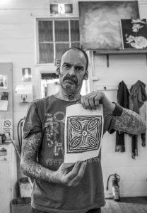 Open Canvas artist David Parkinson