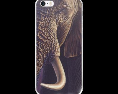 Open Canvas artist Rentata Bruynzeel elephant iPhone cover