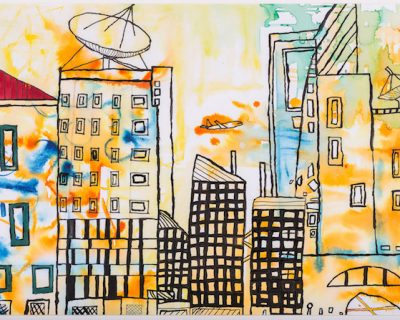 Open Canvas artist Perry Seau