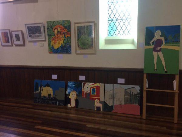 Open Canvas exhibition