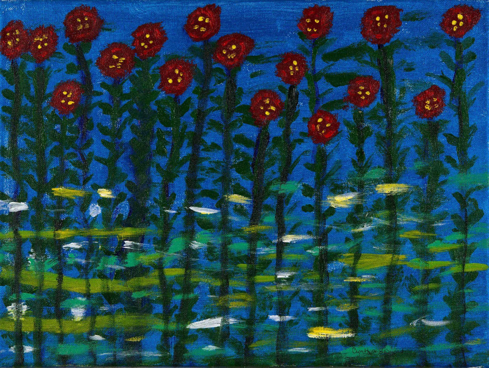 Open Canvas artist Cynthia Barnard
