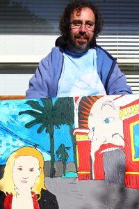 Open Canvas artist Toby Matheson